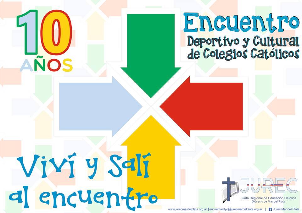 Material para el 10º Encuentro Deportivo y Cultural de Colegios Católicos