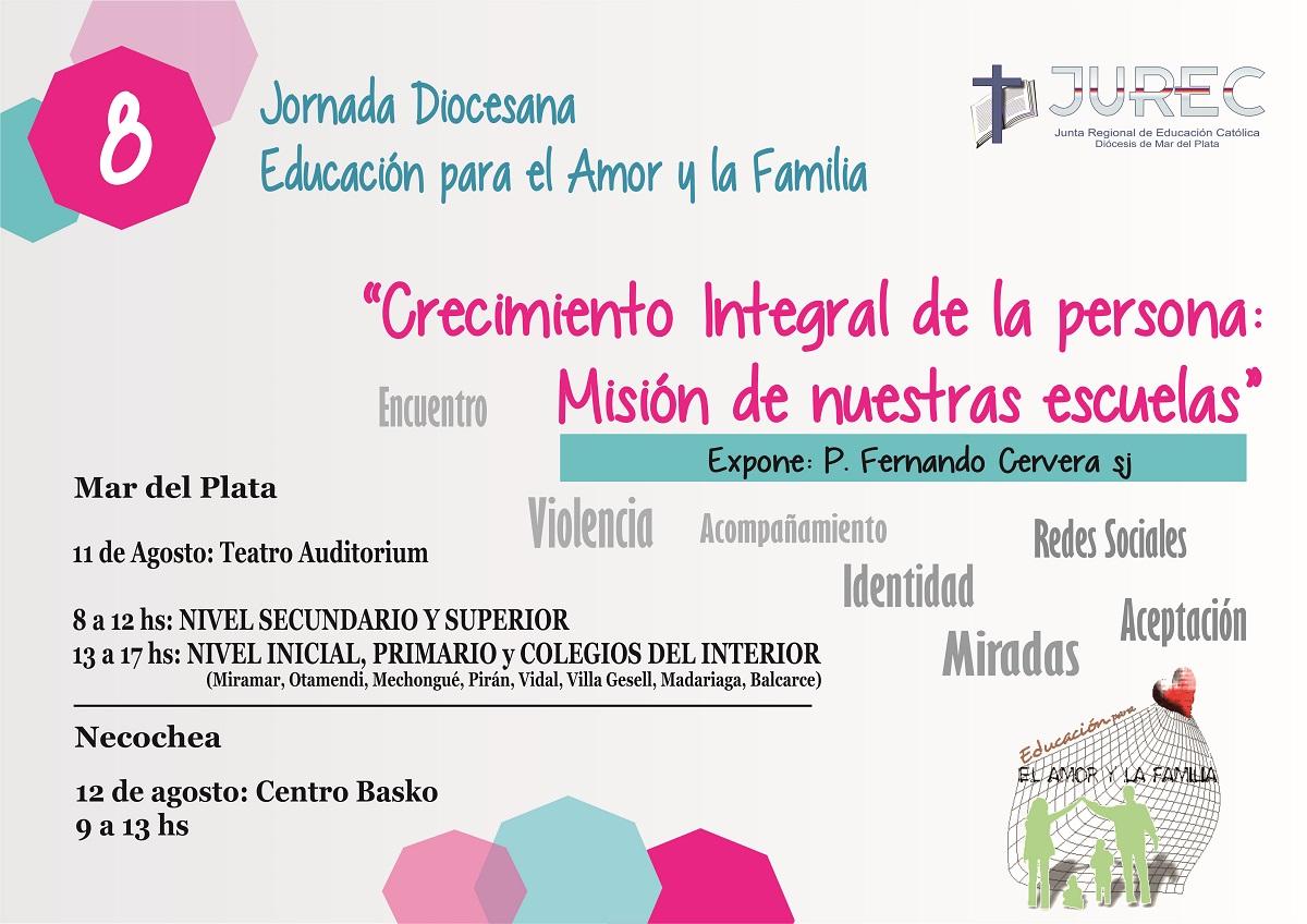 Jornada Diocesana de Educación para el Amor y la Familia 2015