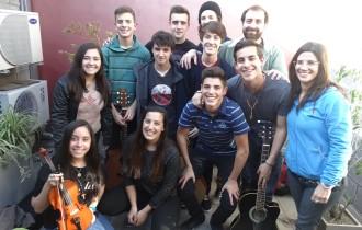 Alumnos de Don Orione presentaron la canción con la que participaron en los #JuegosJuRECMDP