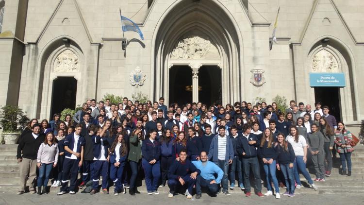 La JuREC capacitó alumnos para la Semana de la Misericordia