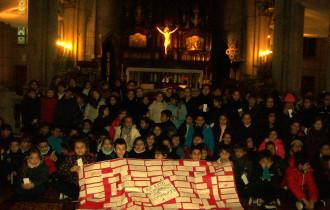 Alumnos del Colegio Lamarca peregrinaron a Mar del Plata