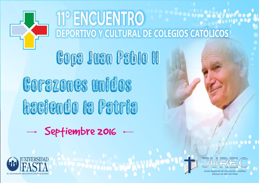 Del 15 al 19 de agosto, abierta la inscripción de alumnos para el Encuentro Deportivo y Cultural 2016