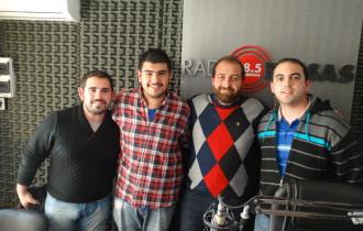 Entrevista en Radio Brisas con los organizadores de la próxima jornada de capacitación y discusión