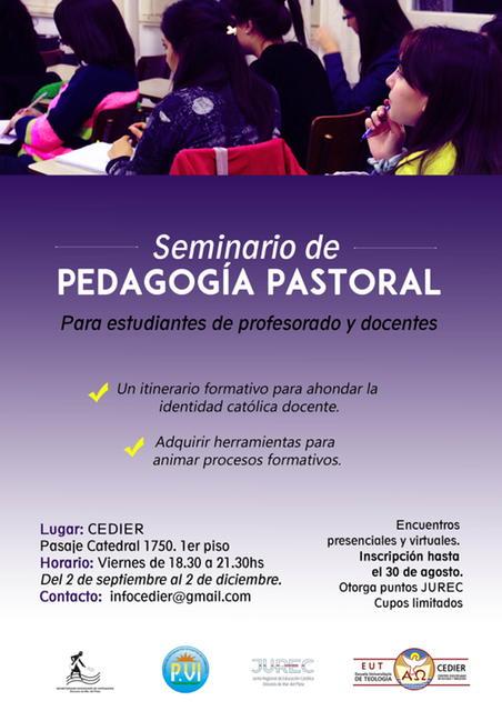 Comenzó el Seminario de Pedagogía Pastoral