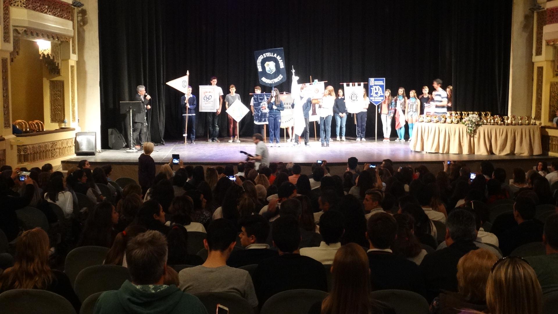El Instituto Stella Maris se llevó la Copa Juan Pablo II de JuREC