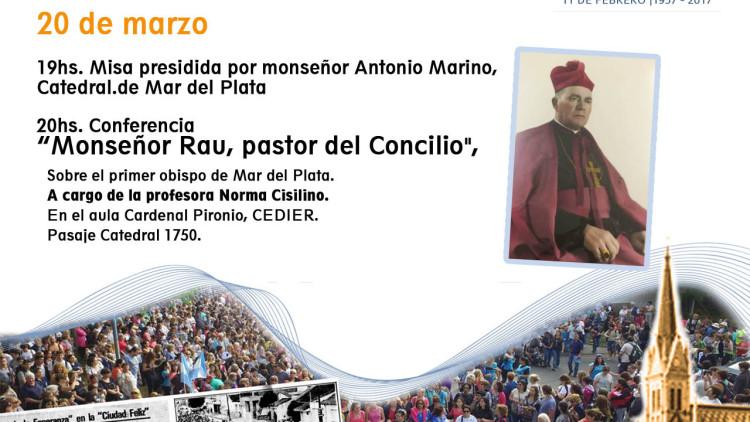 1° charla por la celebración del 60º Aniversario de la diócesis de Mar del Plata