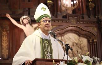 Monseñor Gabriel Mestre se convirtió en el nuevo obispo de Mar del Plata