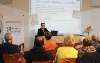 Se realizó la tercer y última charla sobre monseñor Rómulo García