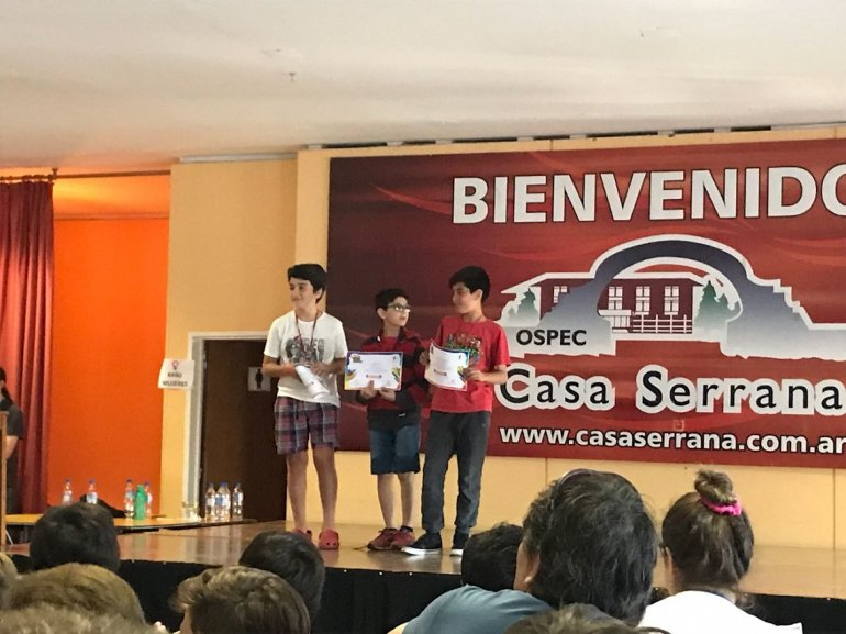 Alumnos del Colegio Nuestra Señora del Carmen ganaron una olimpiada de matemática en Córdoba 2