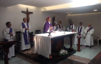 El obispo Mestre agradeció a todos los docentes en la misa por el cierre del ciclo lectivo