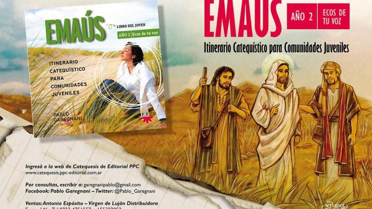 """Pablo Garegnani presenta el libro """"Emaús. Año 2. Ecos de tu voz"""""""