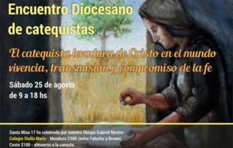 25 de agosto: Encuentro Diocesano de Catequistas