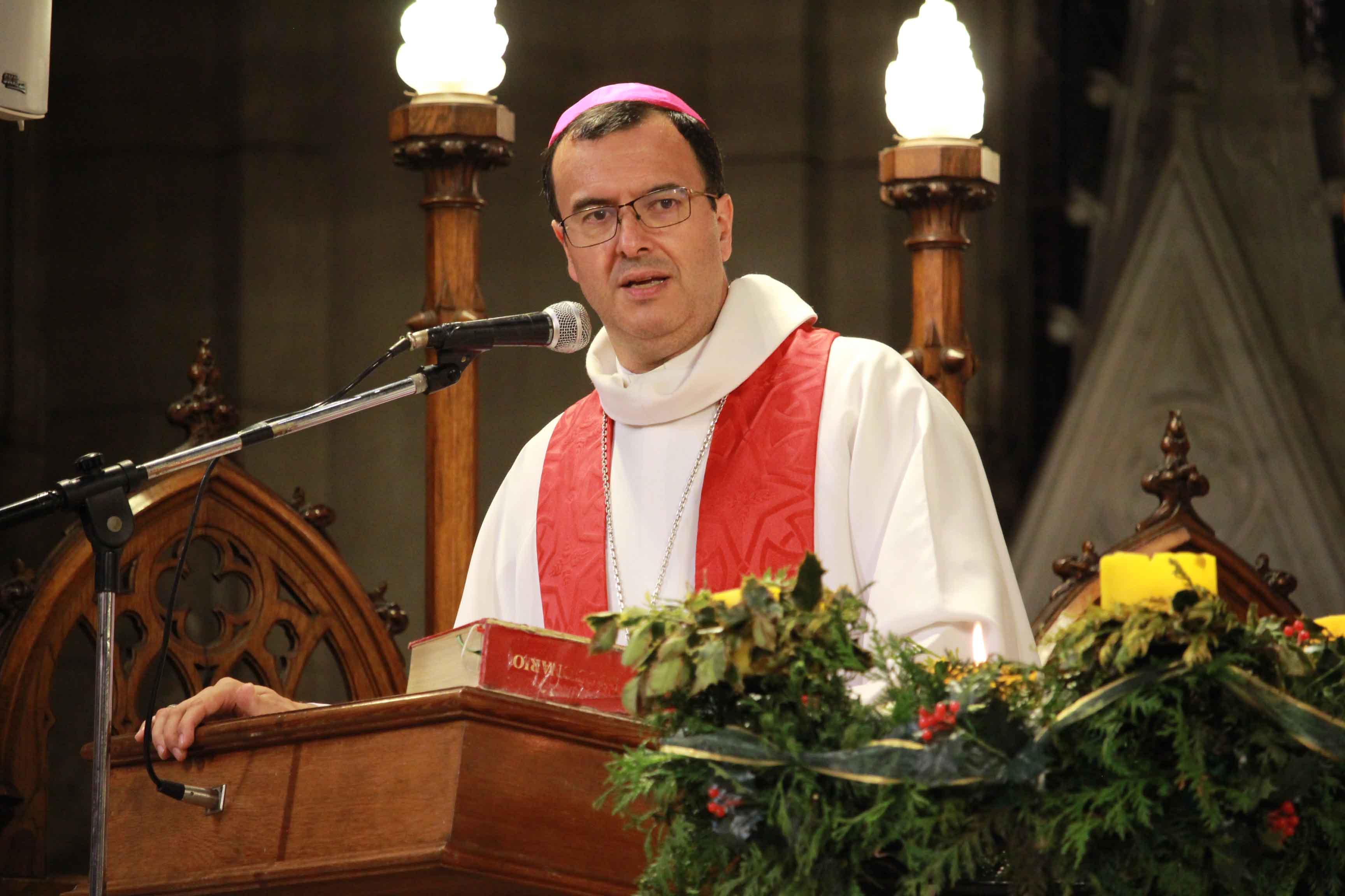 Retiros de adviento predicados por nuestro obispo Gabriel Mestre