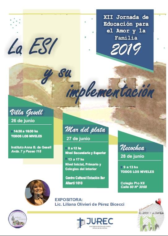 """XII Jornada Diocesana de """"Educación para el Amor y la Familia"""""""