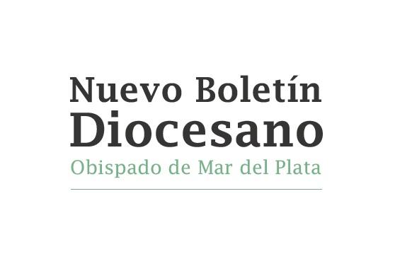 Nuevo Boletín Diocesano