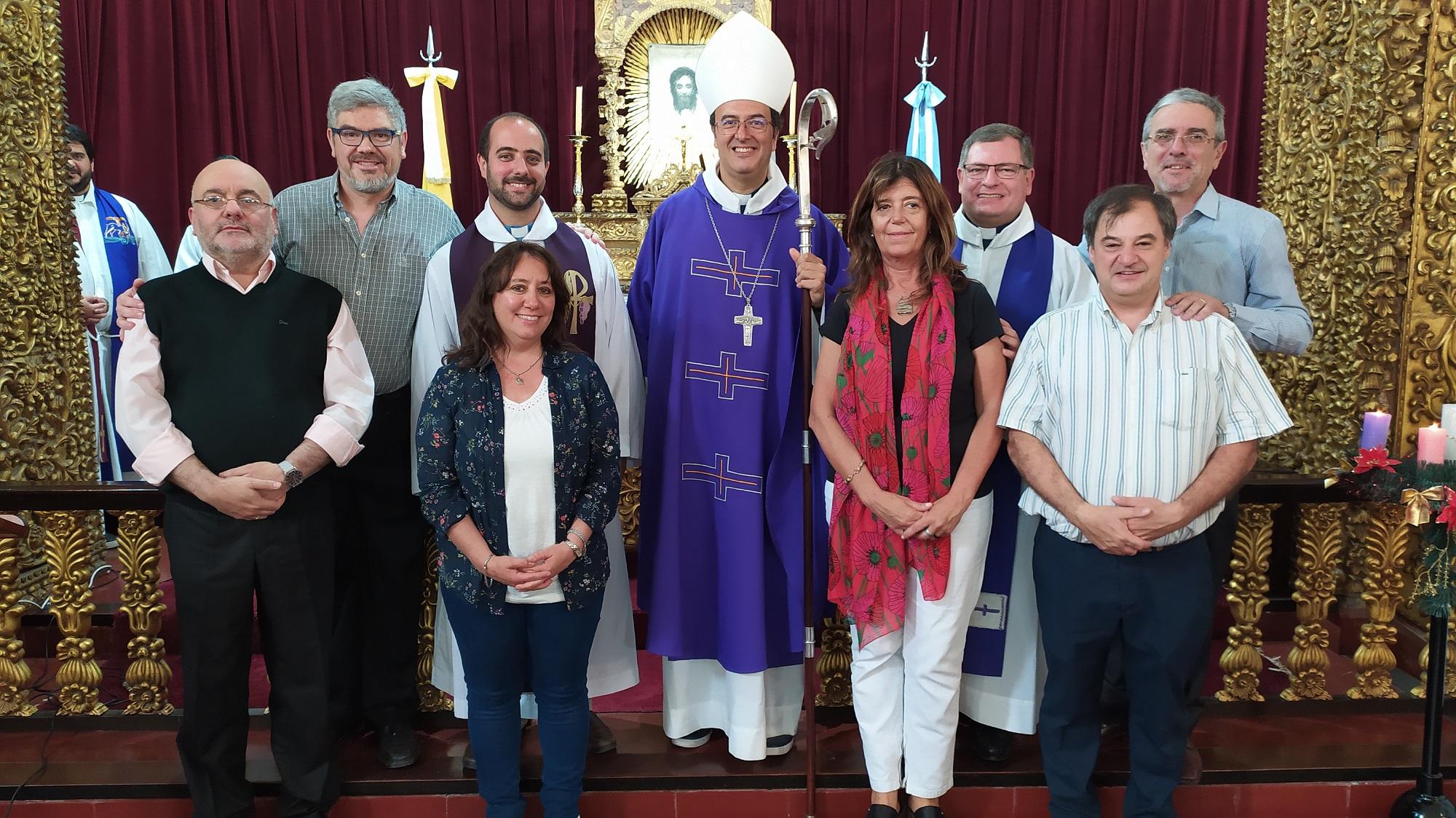 Presentaron a los nuevos integrantes de JuREC en la misa por fin de ciclo lectivo