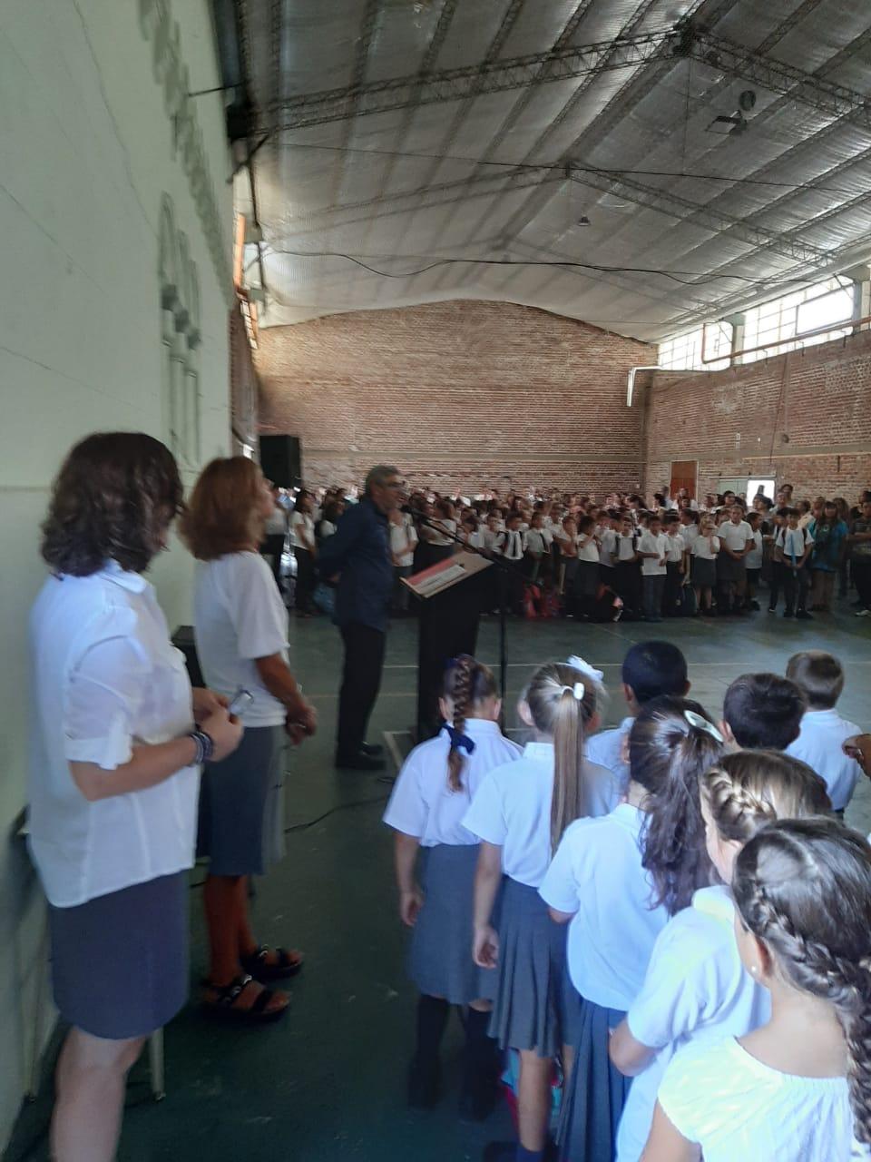 La JuREC acompañó el inicio de clases en distintos colegios
