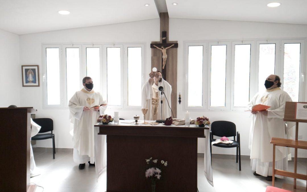 BENDICION DE LA CAPILLA DEL COLEGIO JESUS OBRERO