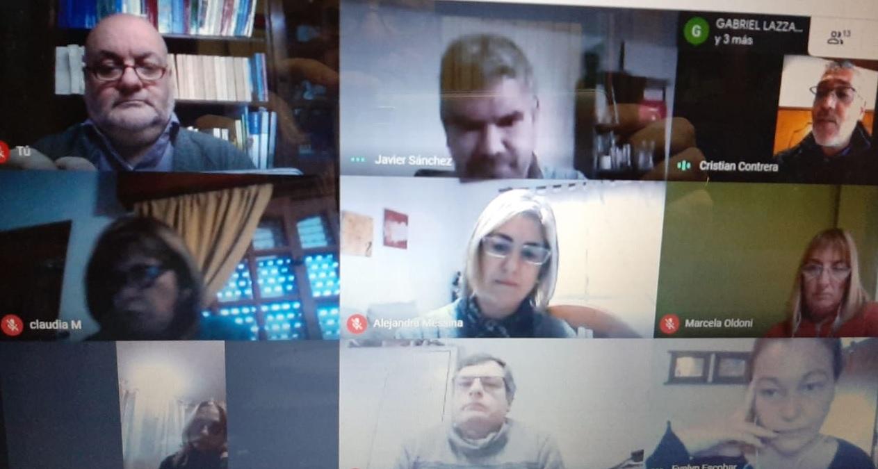 Reunión con el equipo de conducción del Instituto Anna Bottger