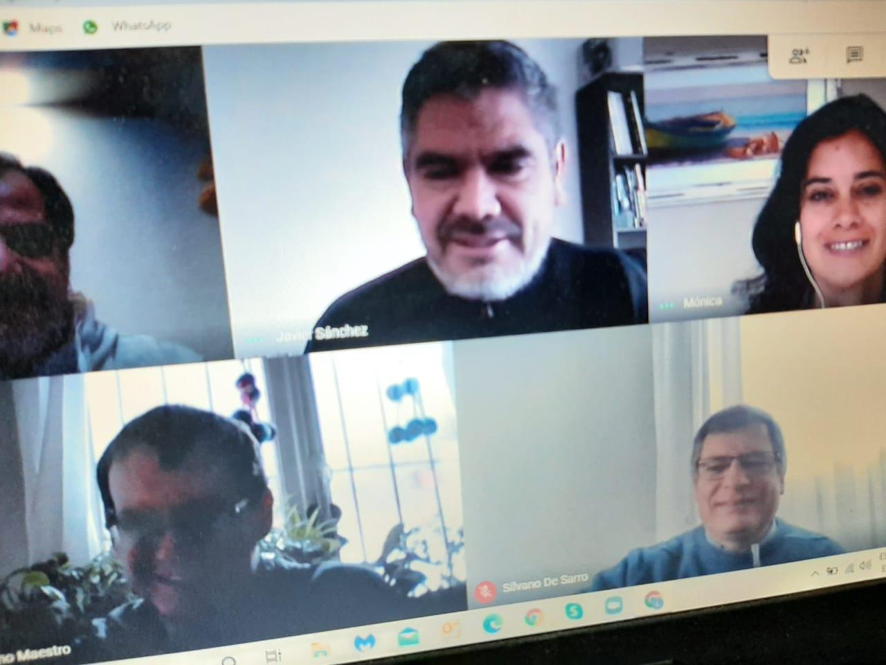 Continúan los encuentros virtuales con referentes de comunidades educativas