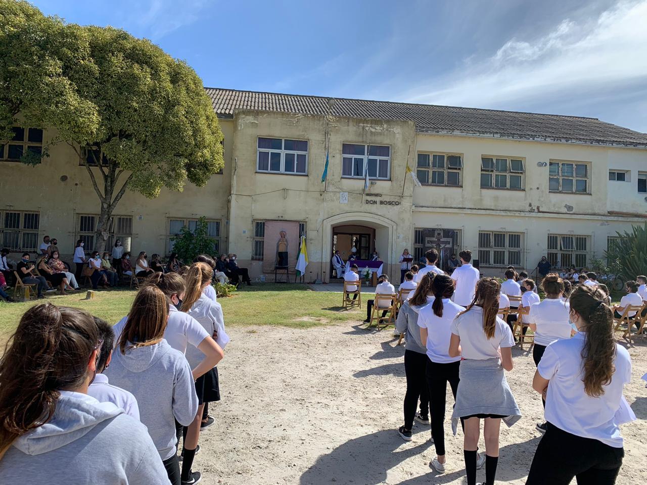 Con una Misa en Gral. Pirán, Mons. Mestre dio inicio al año lectivo en las escuelas católicas