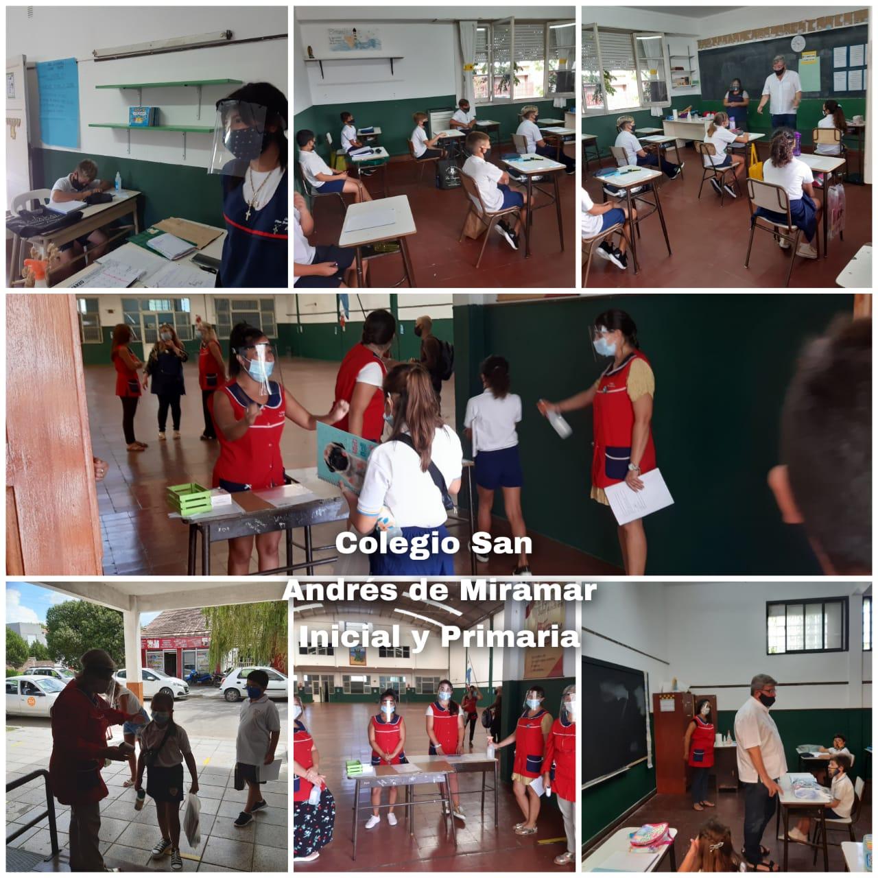 Comenzaron las clases para Inicial y Primario
